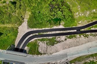 Pista di skiroll Passo Lavazè